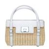 Tiffany & Co时尚环保竹制书包型女士手提包