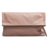 Clare VivierFoldover 裸粉色折叠手包