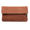 Clare VivierFoldover 暖棕色折叠手包