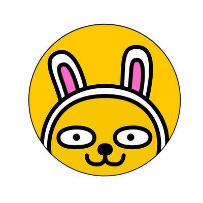 柠檬黄色的外壳,可爱的萝卜兔表情,小巧便携,轻松美肤的同时享受kakao