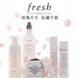 fresh玫瑰润泽保湿花水+fresh玫瑰润泽舒缓凝霜