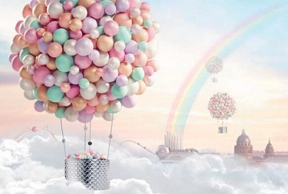 球在盒子外简笔画-ōミ灬 つ的点评 法国娇兰雪舞晶透幻彩流星蜜粉球图片